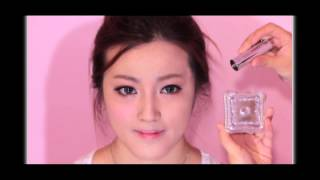 Japanese Gyaru(Gal)  Sweet Muse makeup tutorial