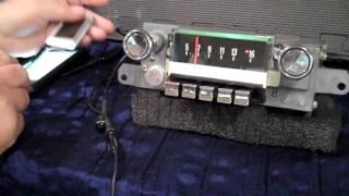 1967 Ford Galaxie original AM radio
