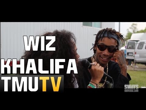 Wiz Khalifa Talks About Going To Jail & Jail Selfie