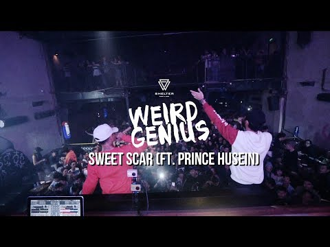 Weird Genius - Sweet Scar ft. Prince Husein at Shelter Club Bandung