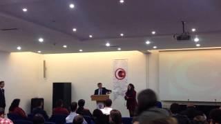 Bilkent Milliyetçi Düşünce Topluluğu Osman Pamukoğlu Konferansı
