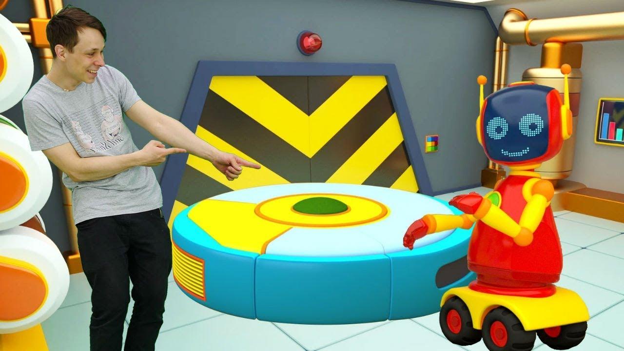 Мастерская Капуки Кануки с Федором. Про робот пылесос для детей