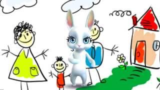 Zoobe Зайка День защиты детей, Лето, Каникулы, Ура!