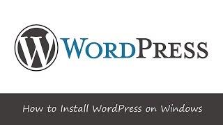 How To Install WordPress On Windows Using WAMP