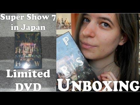 Unboxing - Super Junior - Super Show 7 in Japan - Limited DVD (3 DVD box  set)