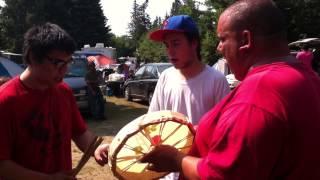 Mikmaq war dance
