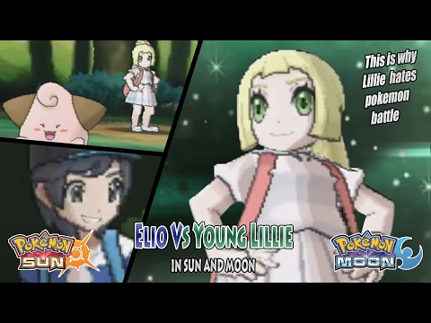 Pokemon Sun and Moon: Trainer Sun Vs Young Lillie (Trainer Lillie Unofficial)