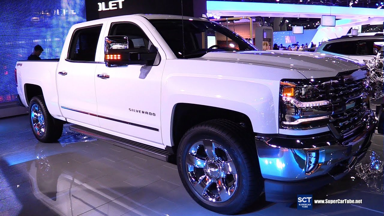 2016 Chevrolet Silverado LTZ 4x4 - Exterior and Interior ...