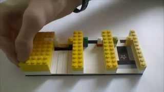 (Урок) Механизм на прокачку: Лего сортировщик монет (RUS)