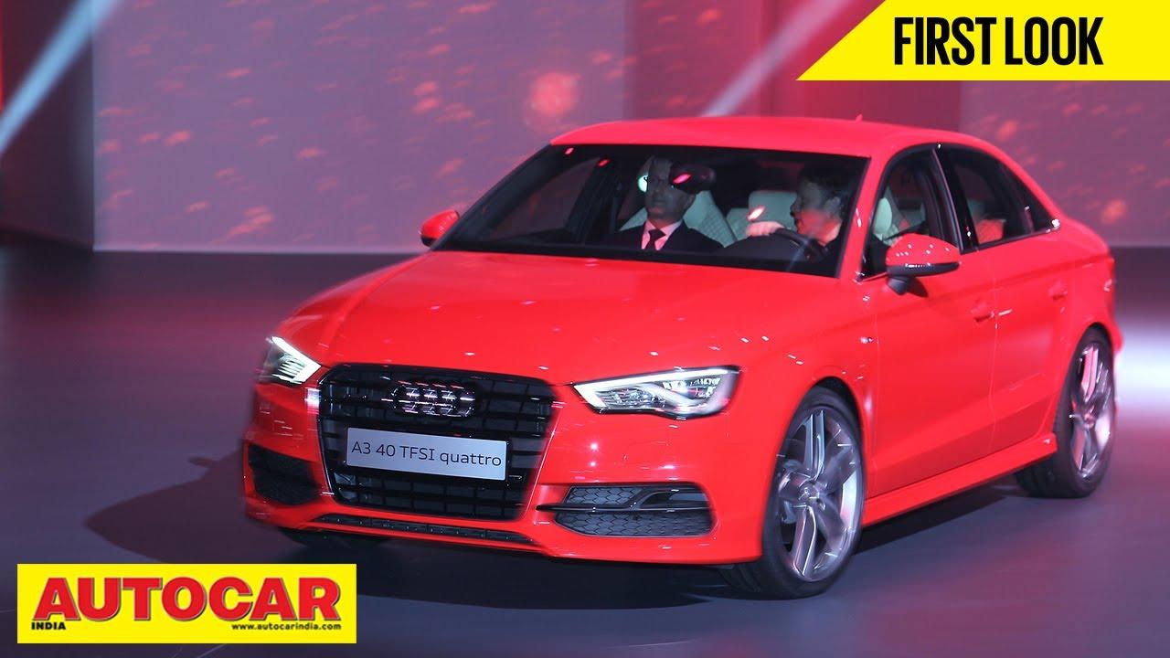 Audi A Sedan First Drive Review Autocar India YouTube - Audi autocar