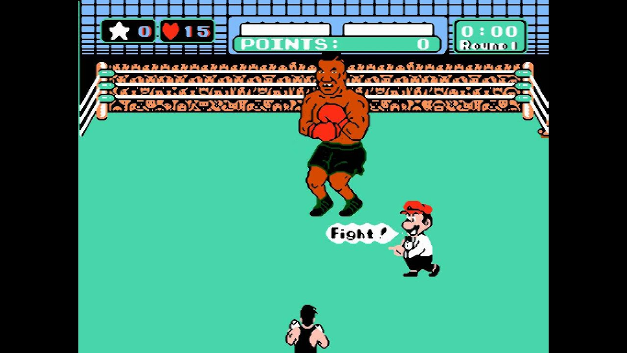 Image result for punchout mike tyson