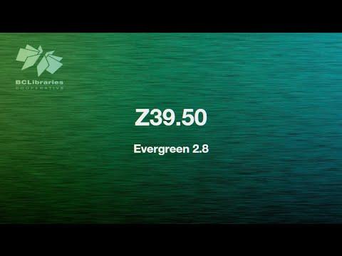 Sitka Training Video - Z39.50