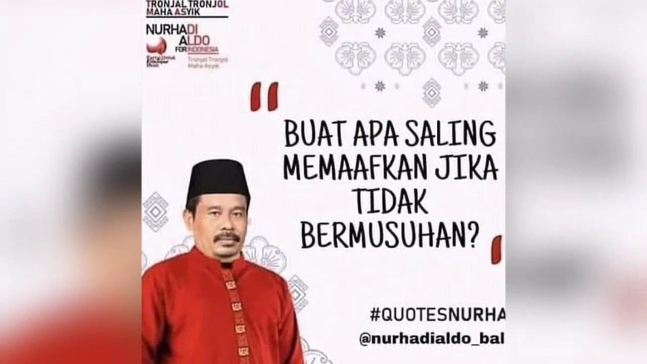 Quotes Lucu Nurhadi Aldo Youtube