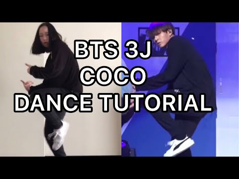 BTS Unit Stage '삼줴이'(3J) Coco Mirrored Tutorial+Dance Cover
