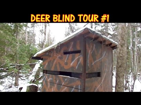 Deer Blind Tour - Hunting In Comfort