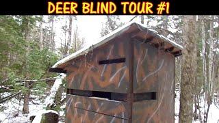 Deer Blind Tour - Hunting in Comfort