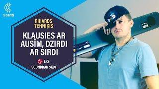 Rihards par skaņu filmās - LG SK9Y Soundbar