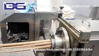 Automatic Wheat strip bugles cone snack food production line/making extruder equipment plant