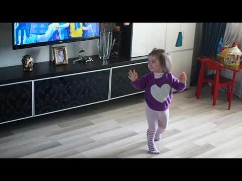 Танец будущей балерины