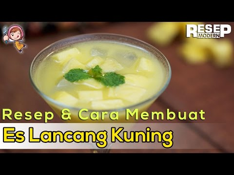 Cara Membuat Es Lancang Kuning Sehat dan Segar