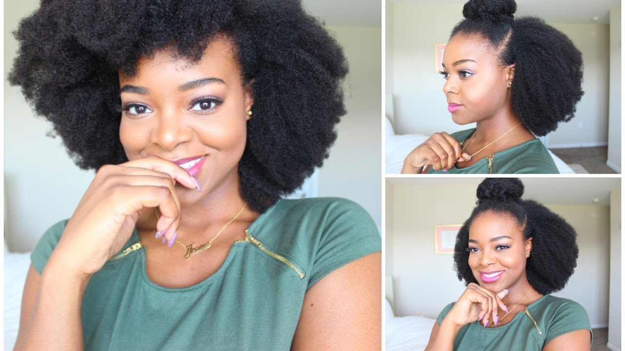 10 Simple Natural Hairstyles For Beginners Naturall