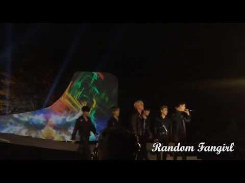 180718 비에이피 (B.A.P) - Wake Me Up At Asian Games Torch Relay Concert Prambanan Fancam