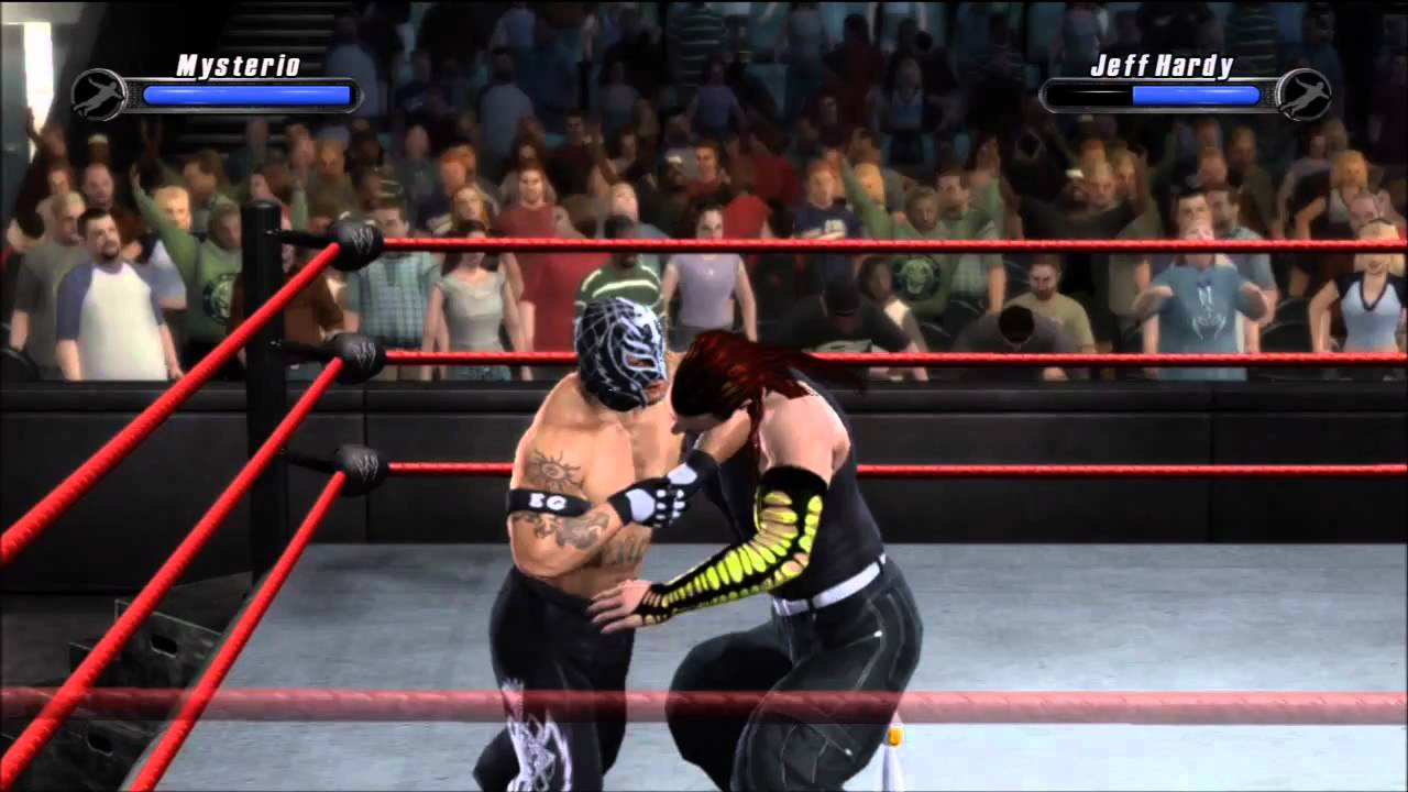 WWE Smackdown Vs Raw Game For PC Full Version