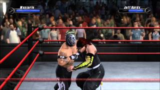 Smackdown vs Raw 2008 - Rey Mysterio vs Jeff Hardy