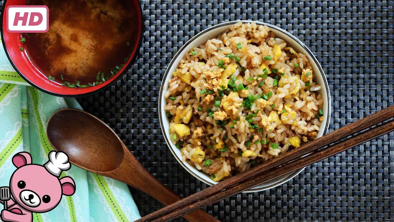 How to make easy japanese garlic fried rice niniku yakimeishu how to make easy japanese garlic fried rice niniku yakimeishu youtube ccuart Image collections