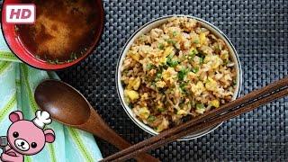 How To Make Easy Japanese Garlic Fried Rice (niniku Yakimeishu)