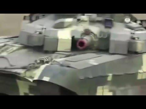 Порівняльний ролик українського танка Т-84 БМ «Оплот» та російського Т-14 «Армата»