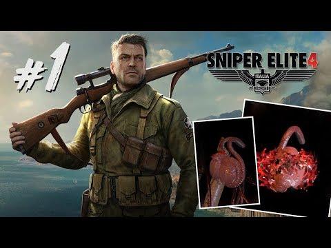 #1 蛋蛋收割者| Sniper Elite 4 狙擊之神 4 中文版 ( PC 60FPS)