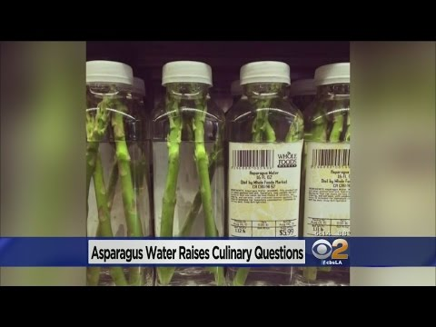 Asparagus-Infused Water For $6 A Bottle? Some Consumers Do D