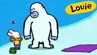 Dibujos animados para niños - Louie dibújame un Yeti HD