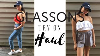 CLOTHING TRY ON HAUL | GLASSONS