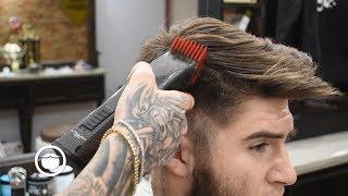 Greg Berzinsky's Son Gets a Haircut