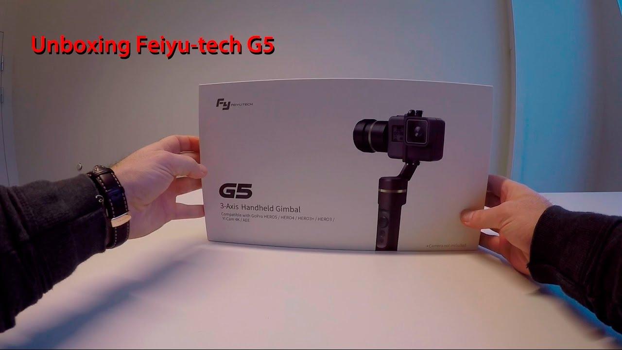 Unboxing the new Feiyu-tech G5 - YouTube