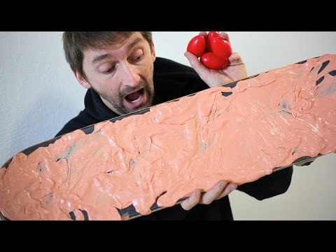 Thumbnail: SILLY PUTTY GRIP TAPE! | YOU MAKE IT WE SKATE IT EP 85