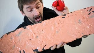 SILLY PUTTY GRIP TAPE! | YOU MAKE IT WE SKATE...