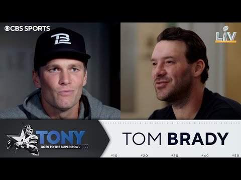 Tony Romo Interviews Tom Brady | Super Bowl LV | CBS Sports HQ