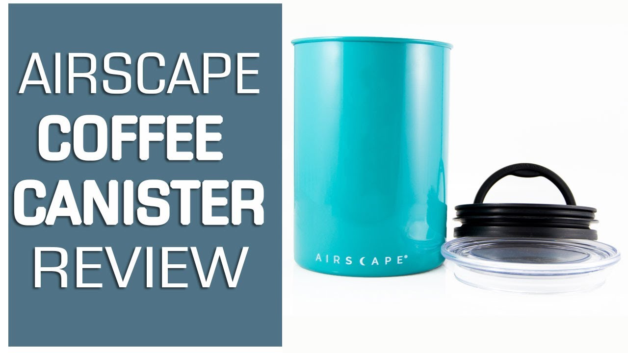 Review Airscape Coffee Storage Stainless Steel Canisters By Planetary Design