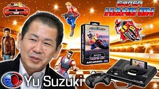 Historia de Yu Suzuki Recordando Saga Hang-On Sega
