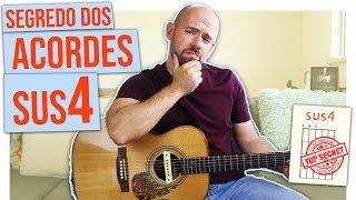 O segredo dos acordes sus4 usado em MILHARES de músicas