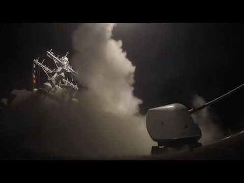 USS Porter Strikes on Syria