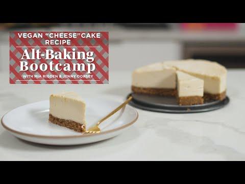 Easy Vegan Cheesecake Recipe | Alt-Baking Bootcamp | Well+Good