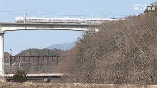 中央東線を行く E351系特急スーパーあずさ & E257系特急あずさ & 211系普通電車 2018.3      HDV 1485