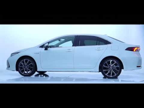 2019 Toyota Corolla Sedan Hybrid Exterior Interior Around Youtube