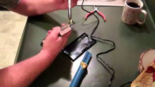 Dell Laptop Power Supply Repair AC adapter PA-12 frayed wire