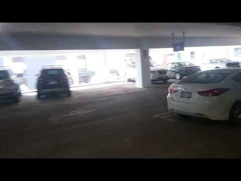 Going down the Phoenix Park Parking Ramp! Rollerblade Monday #1