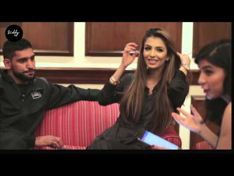 Interview with Amir Khan and Faryal Makhdoom